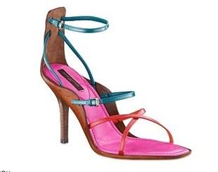 Sandały z kolekcji Louis Vuitton
