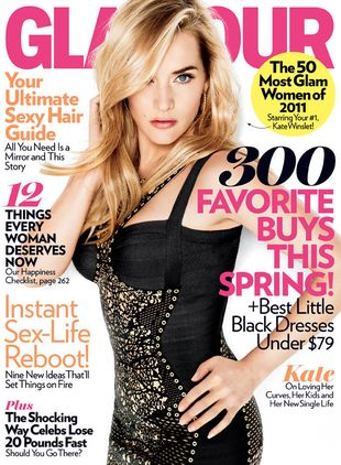 Kate Winslet w Glamour