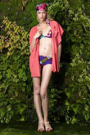 Marlena Szoka w kampanii Kenzo Resort (FOTO)