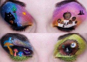 Makijaż inspirowany bajkami Disneya (FOTO)