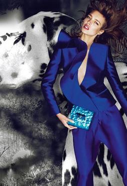 Natalia Vodianova dla Stelli McCartney - jest więcej zdjęć