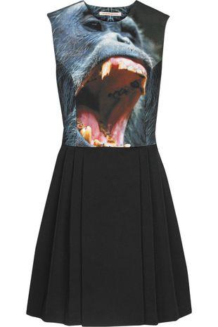 Sukienka z małpą