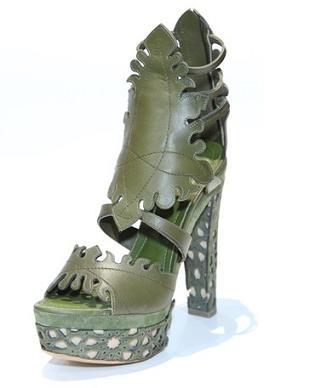 Donna Karan - kolekcja butów wiosna/lato 2011