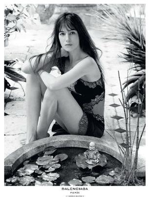 Charlotte Gainsbourg nową muzą Balenciagi
