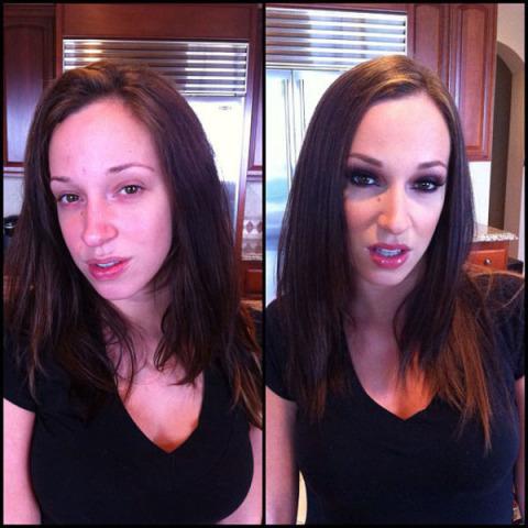 Gwiazdy porno bez makijażu… straszą? (FOTO)