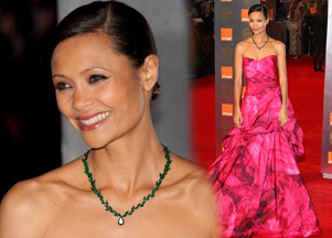 Thandie Newton w sukni Monique Lhuillier (FOTO)