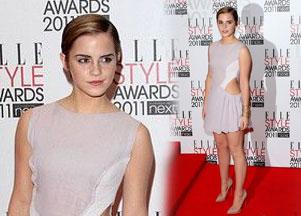 Emma Watson w sukience Hakaan (FOTO)