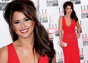 Cheryl Cole w czerwieni od Alexandra McQueena (FOTO)