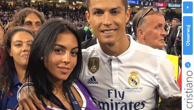 Dziewczyna Cristiano Ronaldo, Georgina Rodríguez, oficjalnie potwierdziła ciążę!