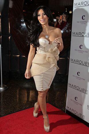 Kim Kardashian znowu przesadziła z makijażem (FOTO)