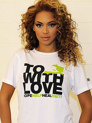 Beyonce twarzą Fashion for Haiti