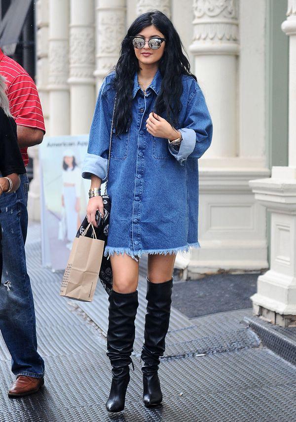 Stylizacje Kylie Jenner