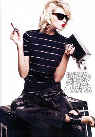 Anja Rubik dla Harper's Bazaar