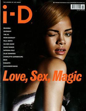 Rihanna w sesji dla i-D magazine
