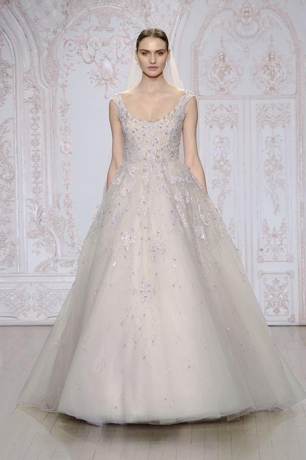 e4bafb634a Przepiękne suknie ślubne Monique Lhuillier - jesień zima 2015 ...