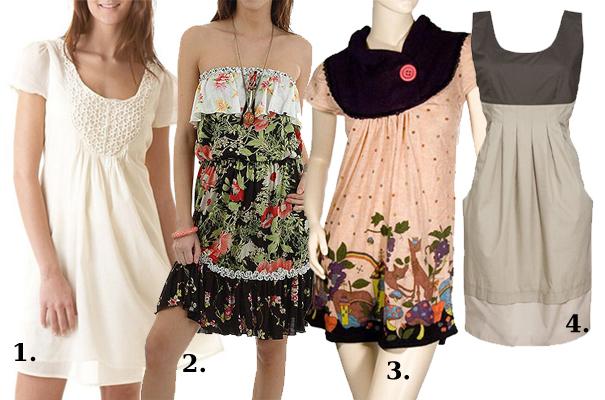 Cztery sukienki z polskich sklepów