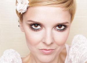 Perłowy makijaż na dzień