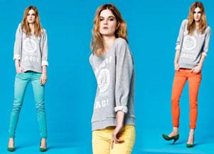 Kolorowe spodnie od Zary na wiosnę (FOTO)