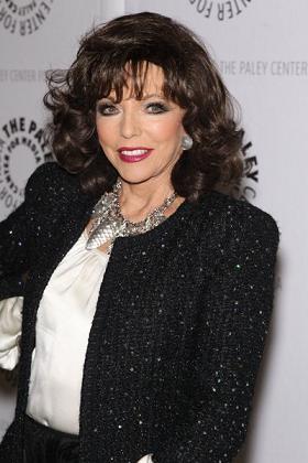 Joan Collins nie miała operacji plastycznych?