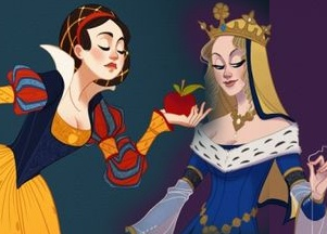 Disneyowskie księżniczki z kostiumach z epok