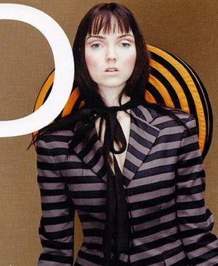 Lily Cole dla D Magazine (FOTO)