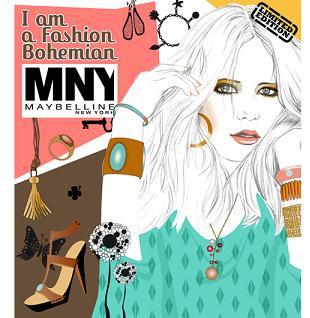 Maybelline New York - I Am A Fashion Bohemian