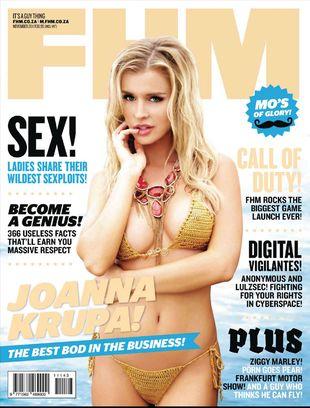 Joanna Krupa w FHM