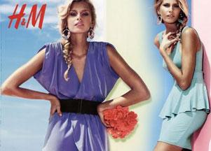 Katalog H&M na wiosnę 2010