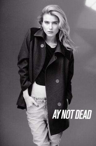 Dree Hemingway dla AY Not Dead (FOTO)