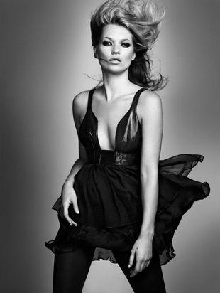 Kate Moss dla magazynu Grazia