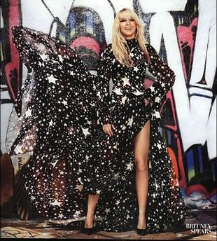 Britney Spears na okładce Harper's Bazaar