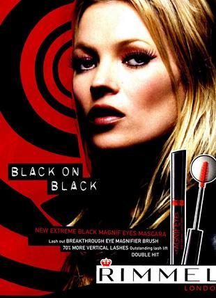 Kate Moss ponownie twarzą marki Rimmel