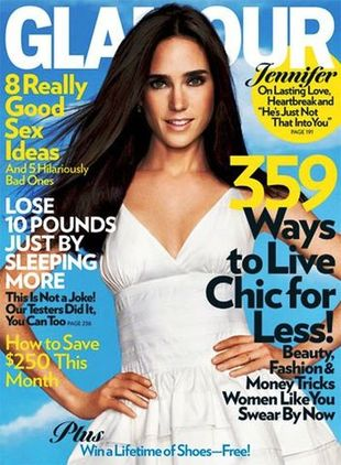 Jennifer Connelly dla Glamour
