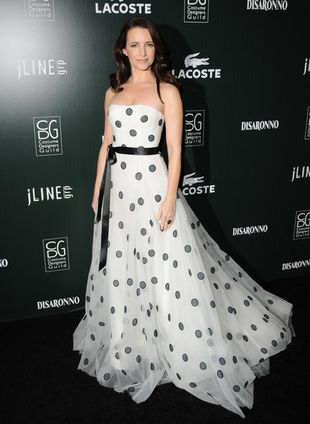 Kristin Davis postawiła na Oscara de la Rentę (FOTO)