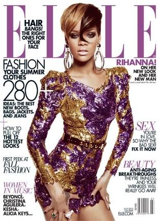 Rihanna na okładce Elle USA