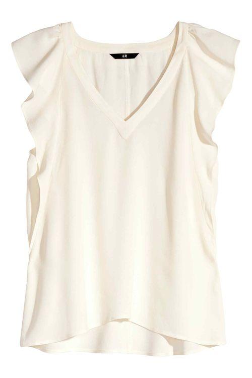 Eleganckie zwiewne bluzki w aktualnej ofercie H&M (FOTO)