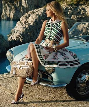 Louis Vuitton Resort 2011 - pierwsze ujęcie z kampanii
