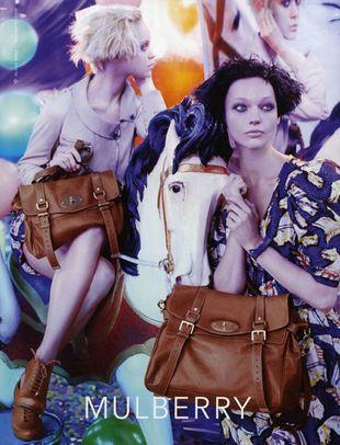 Kampania reklamowa Mulberry-więcej zdjęć