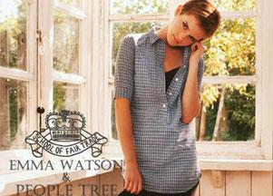 Emma Watson dla People Tree (FOTO)