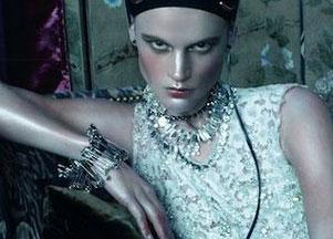 Saskia de Brauw na okładce Vogue Italia (FOTO)