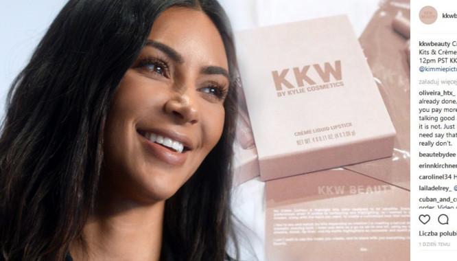 Oto 4 wpadki, które towarzyszą kosmetykom KKWBeauty od Kim Kardashian