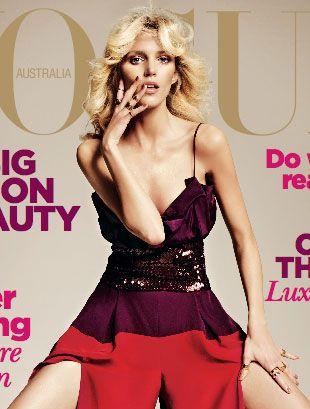 Anja Rubik na okładce Vogue Australia (FOTO)