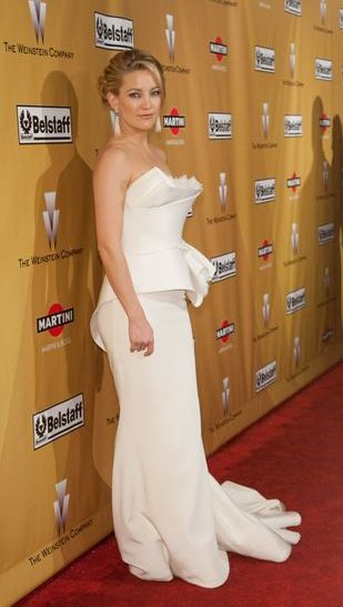 Kate Hudson w ślubnej kreacji Marchesa