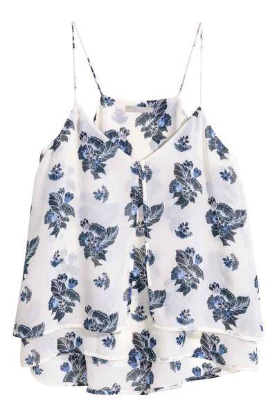 H&M Odcienie błękitu - Niebieskie ubrania na wiosnę i lato 2016