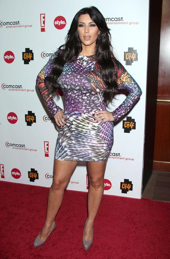 Kreacje Kim Kardashian z czerwonych dywanów