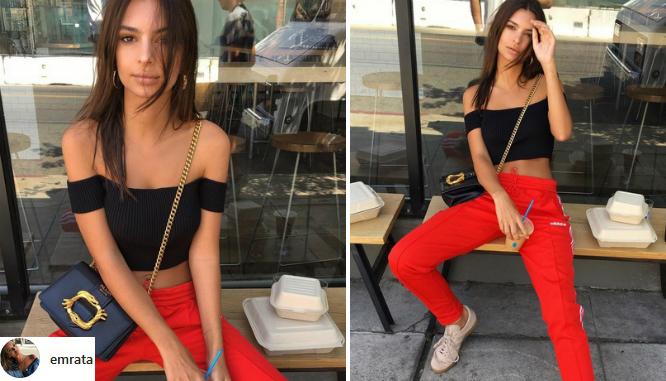Emily Ratajkowski błyszczy na Instagramie w sportowej stylizacji