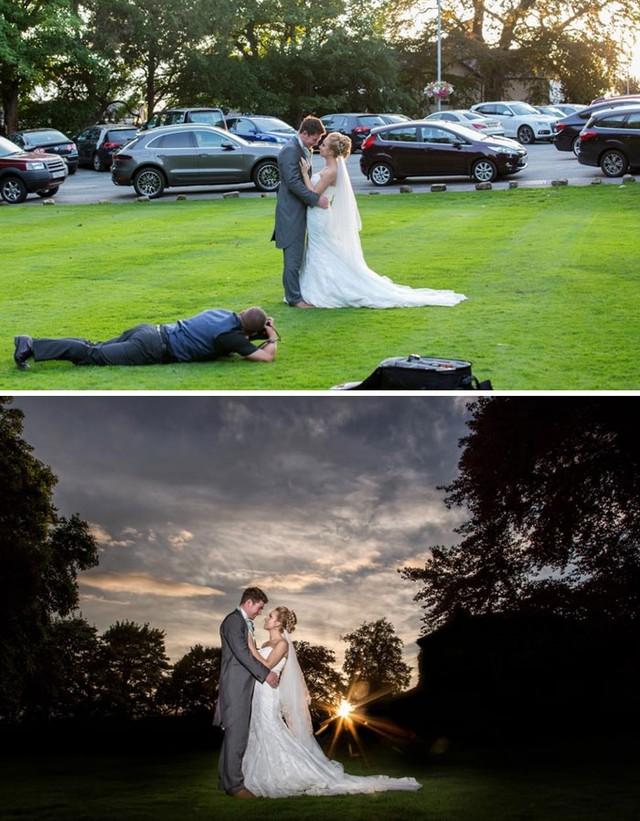 Dowód na to, że fotografowie ślubni są szaleni