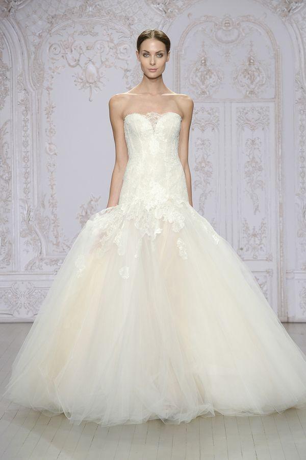 Przepiękne suknie ślubne Monique Lhuillier – jesień/zima 2015