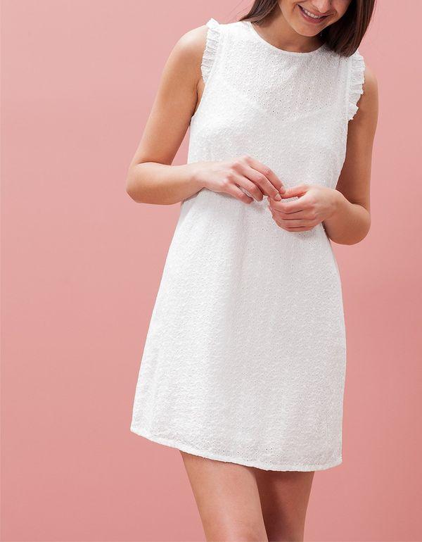 6676aece12cb Białe sukienki haftowane - przegląd sieciówek - zdjęcie 14 - Zeberka.pl