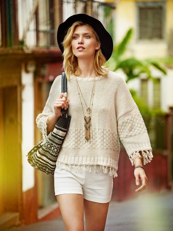 Wiosna 2016 wg Reserved - Street Fashion - Romantic Boho